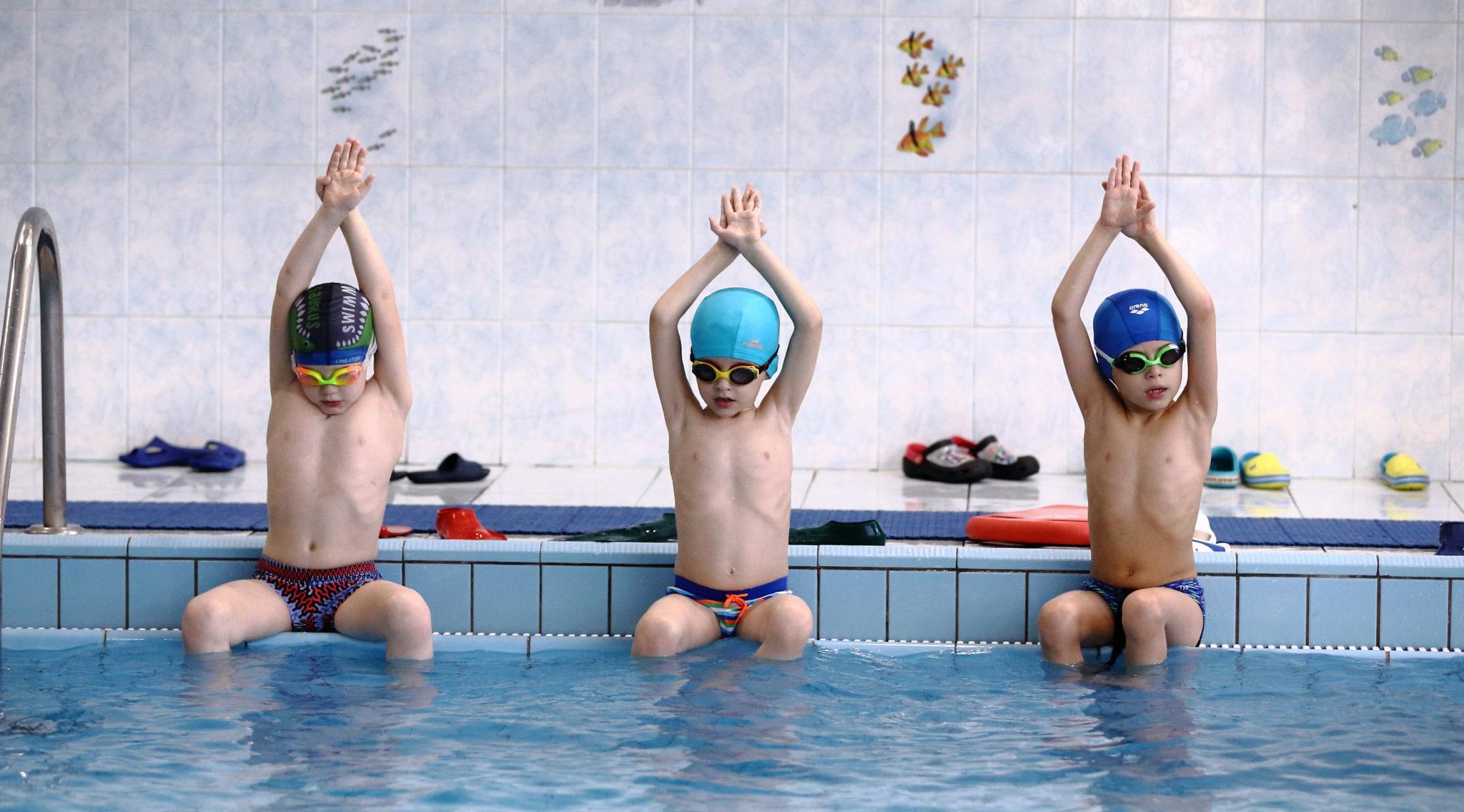 Плавание, 2 занятия в неделю. Малый бассейн.