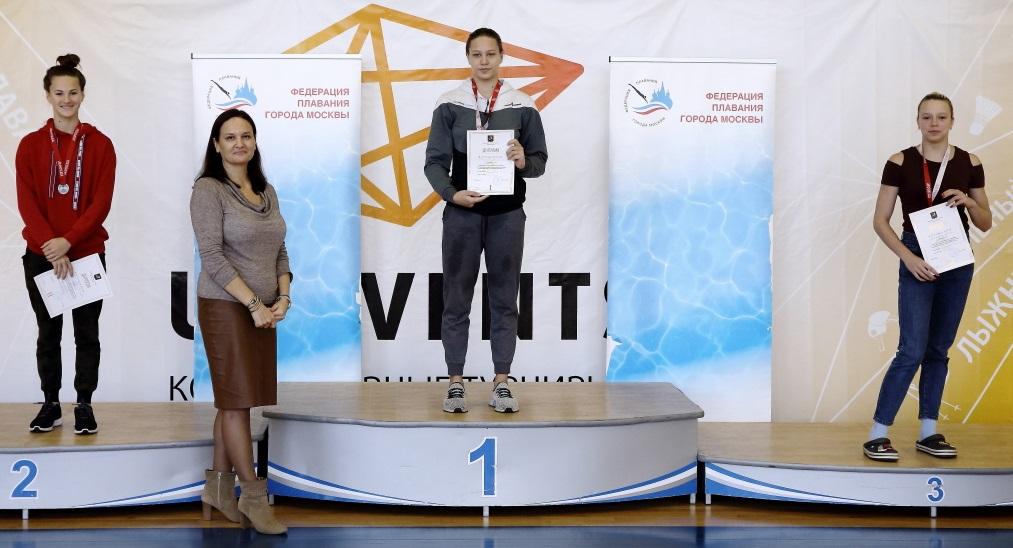 Пчелина и Сусорова – победительницы первенства Москвы по плаванию