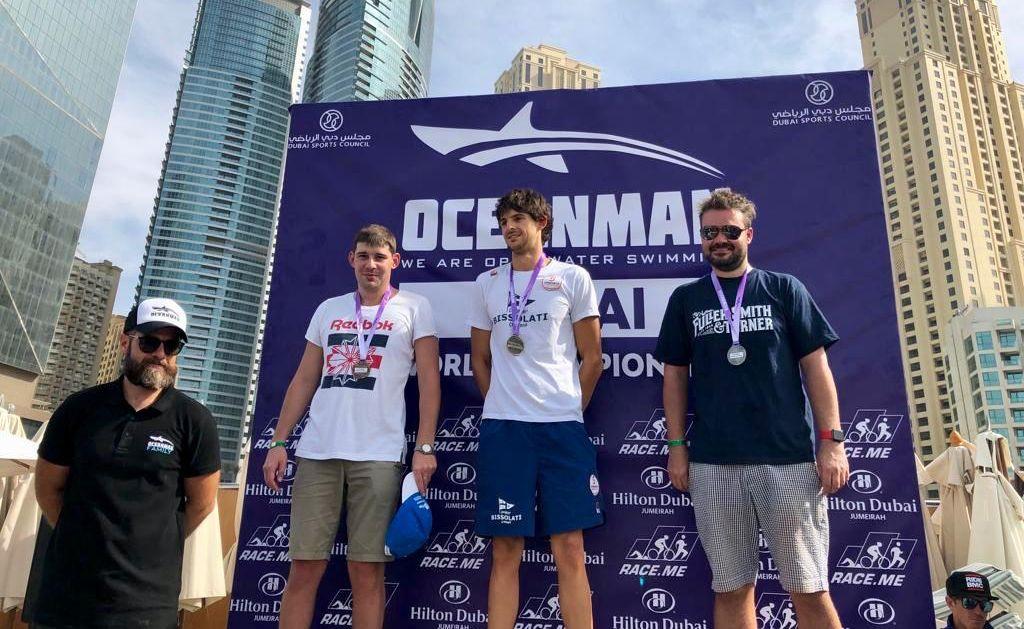 Виктор Розин – бронзовый призер финального этапа Oceanman