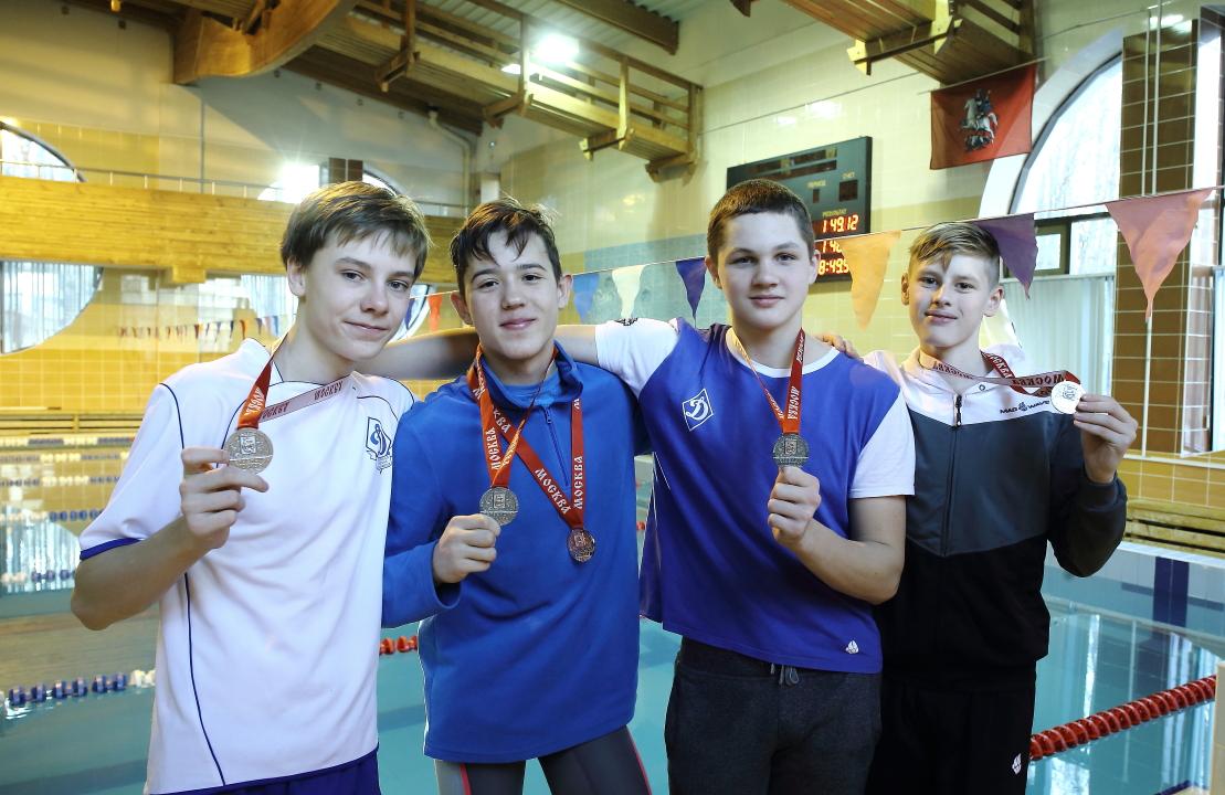 Динамовцы стали пятыми на первенстве Москвы по плаванию