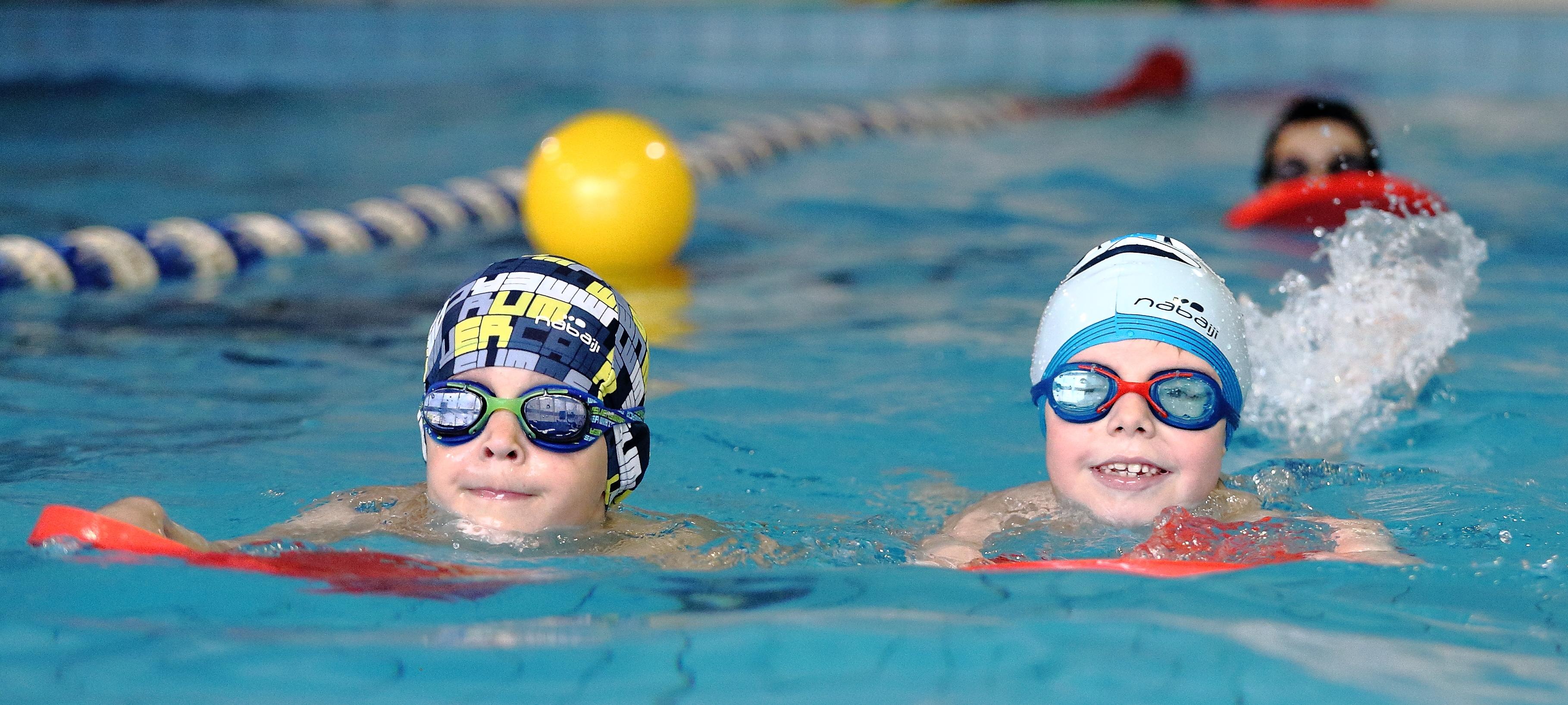 Занятия в Школе Плавания в июле