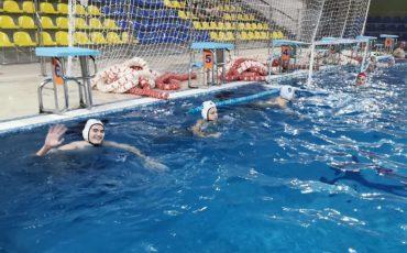 Команда «Янтарь» победила на первенстве СЗАО по водному поло