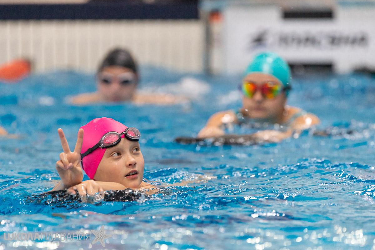 Возобновление занятий в большом бассейне